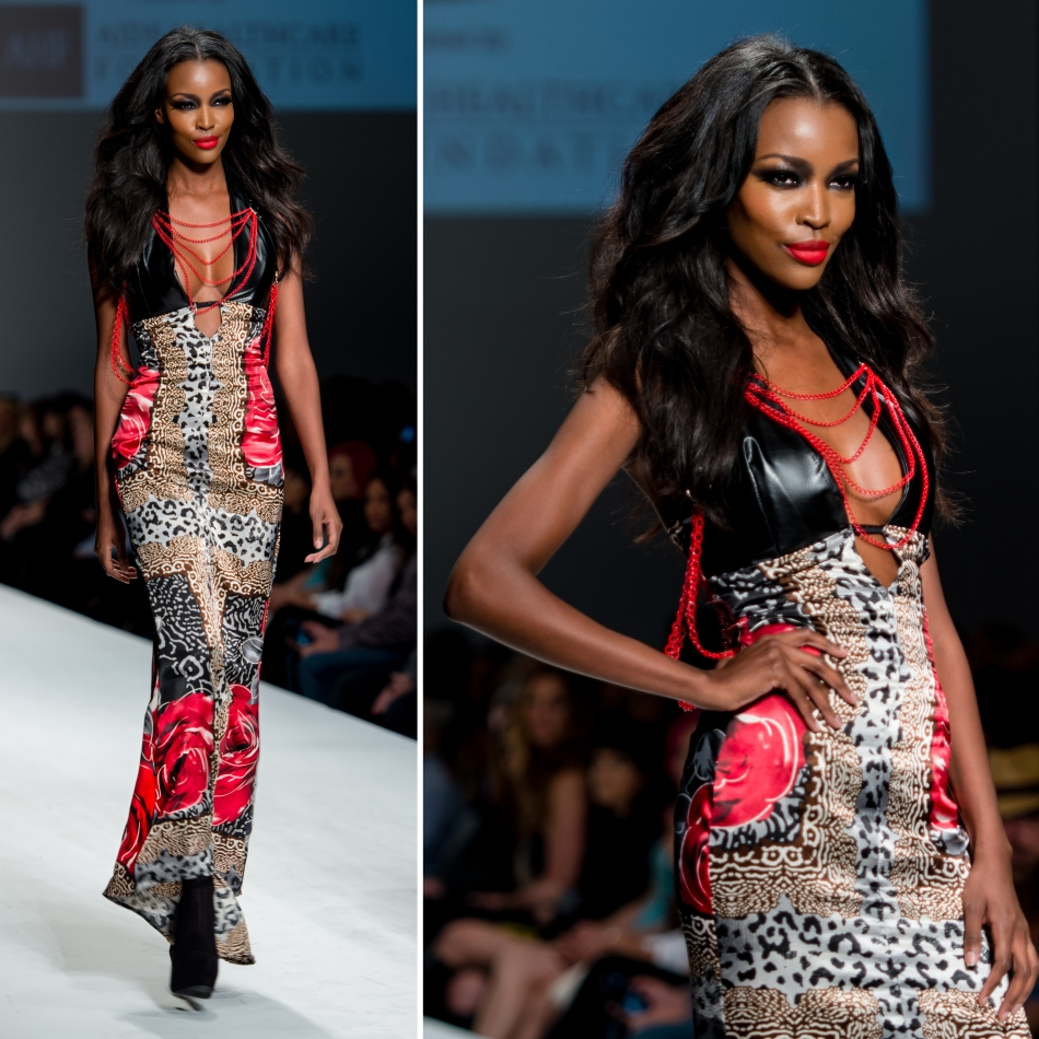 Style Fashion Week LA March 2014 — Designer – Mister Triple X, Model – Tia Shipman